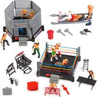 32-Piece Wrestling Toys for Kids