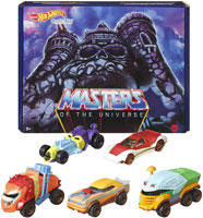 Hot Wheels Masters of the Universe 5-Pack of 1:64 Scale Character Cars