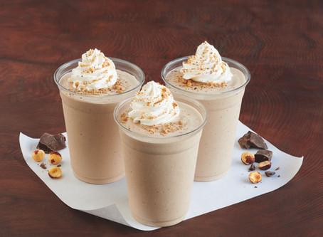 Chocolate Hazelnut Milkshakes At Burgerville!