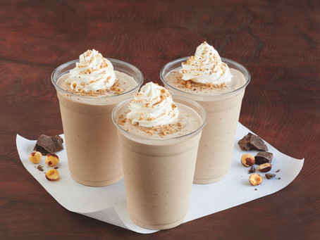 Chocolate Hazelnut Milkshakes At Burgerville!