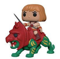 Masters of the Universe He-Man on Battle Cat Pop! Vinyl Ride