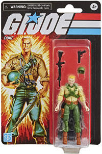 G.I. Joe Retro Collection - Duke Collectible Action Figure 3.75 inch Scale