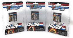 World's Smallest GI Joe Bundle Set of 3 Mini Figures