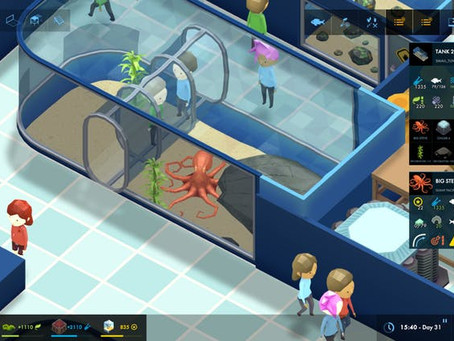 MEGAQUARIUM, An Aquarium Tycoon Game Is Great Fun!