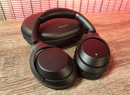 My Amazing Sony Noise-Cancelling Headphones