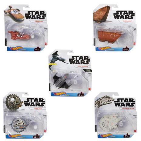 Star Wars Hot Wheels Starships 2021 Mix 2 Vehicle Case