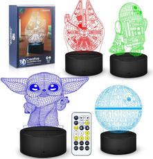 3D Illusion Star Wars Night Light