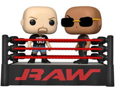 WWE The Rock Vs. Stone Cold Steve Austin