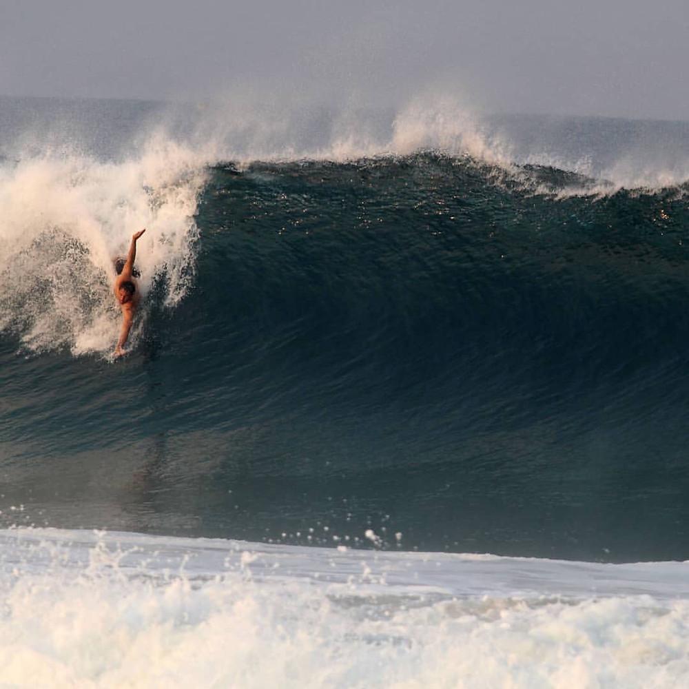 Bodysurf Playa Zicatela Puerto Escondido.