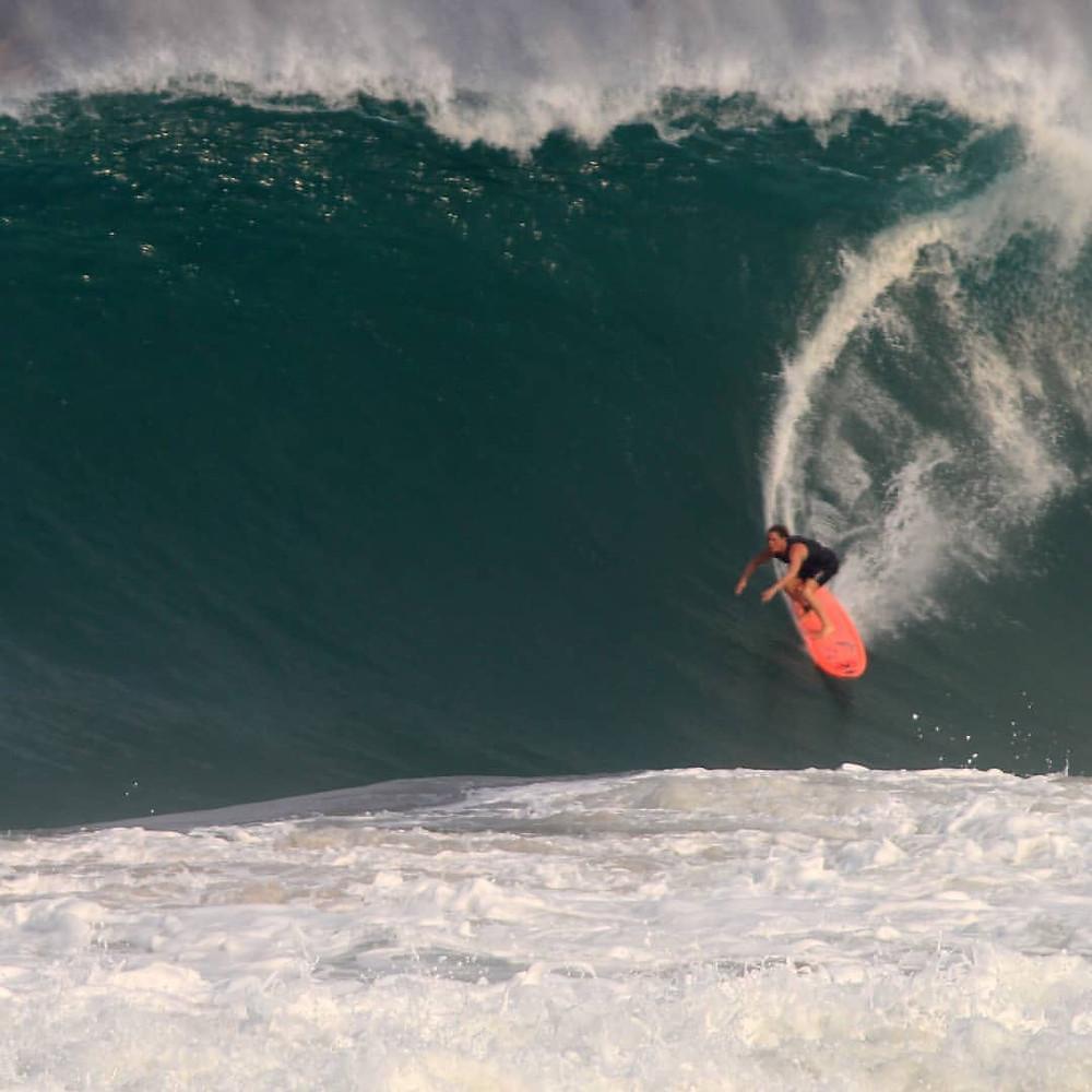 Playa Zicatela Boysurf Red Light Example.