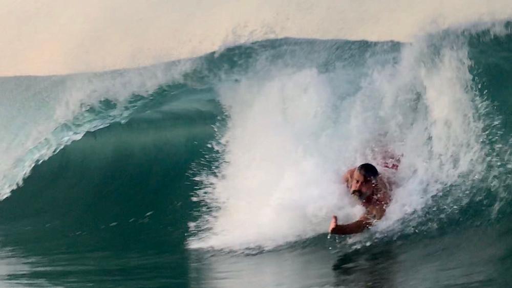 Playa Zicatela Bodysurf.  Photo by John P. Murphy