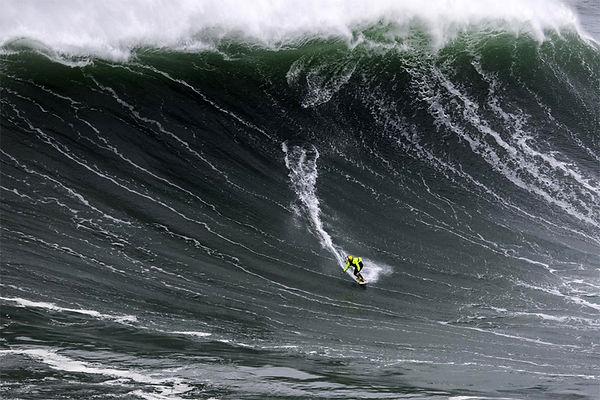 Dave Langer, Big Wave Surfer.  Big Wave