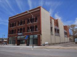 exterior front side facade