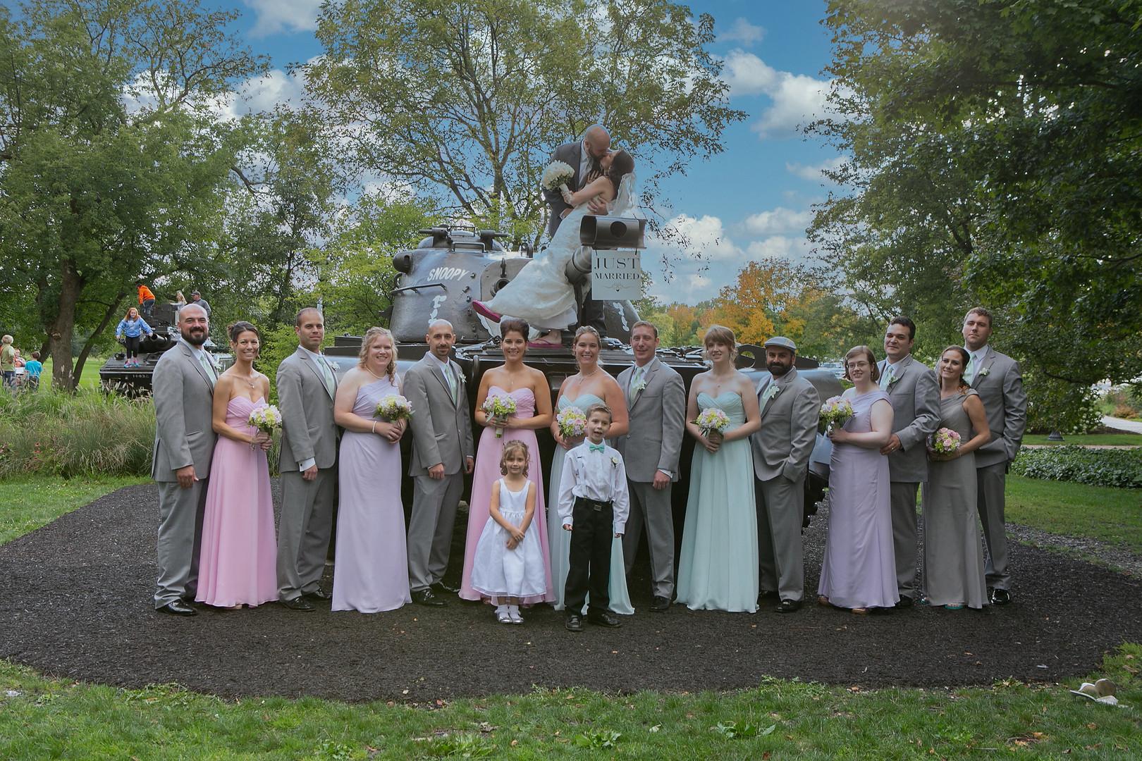 Wedding Photography Cantigny