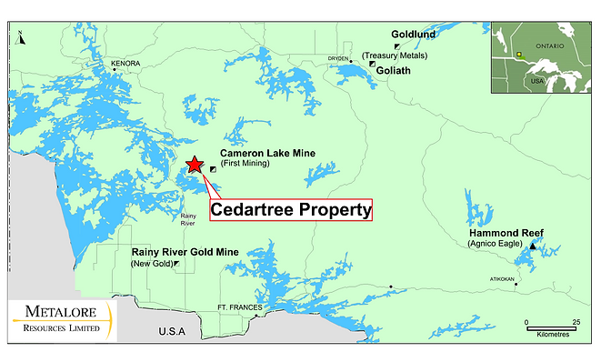 2 Cedartree Gold Property Presentation(2