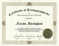 Biotouch Canada Certificate