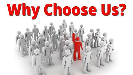 Why choose us? We are the tax experts.