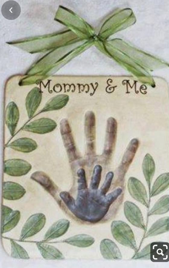 Baked Handprint