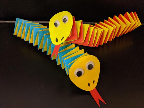 Snake Paper Craft