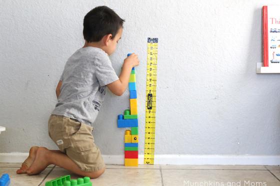 LEGO Measuring Stick
