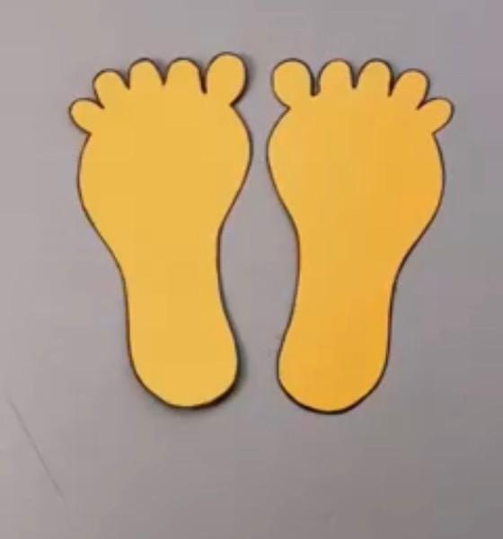 Rolling Tape Feet