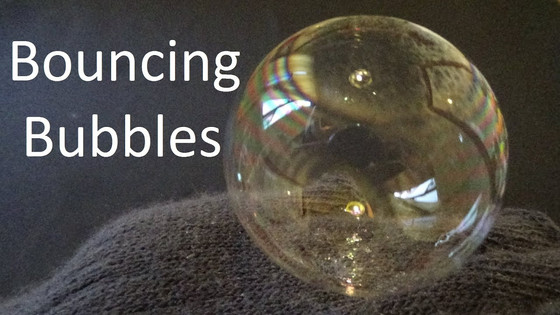 Magical Bouncing Bubbles