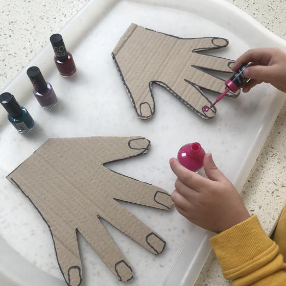 Cardboard Hands