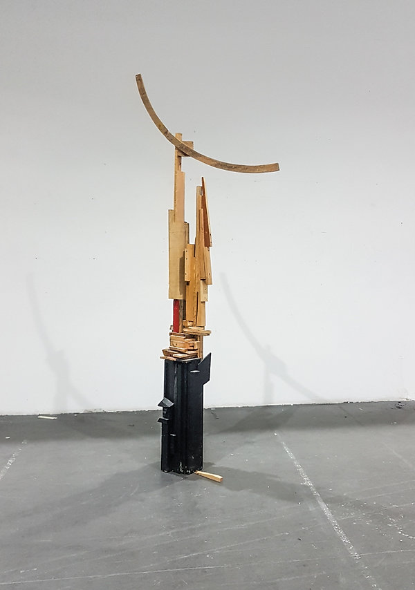 zeta tsermou sculpture wood