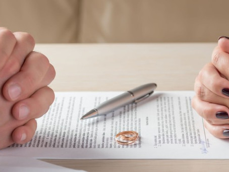 What are the basic steps of a divorce without children?