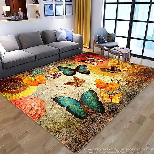 Carpet protector (Butterfly design) - حافظة سجاد