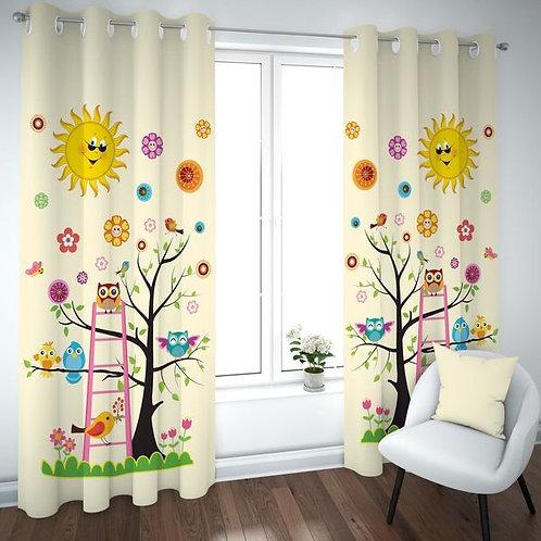 Kids curtain (Sun design) -ستاره أطفال تصميم الشمس