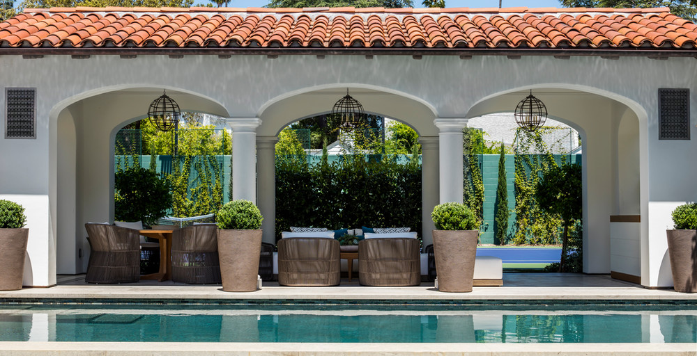 Hoffman Ospina Classical Home Pool Architecture