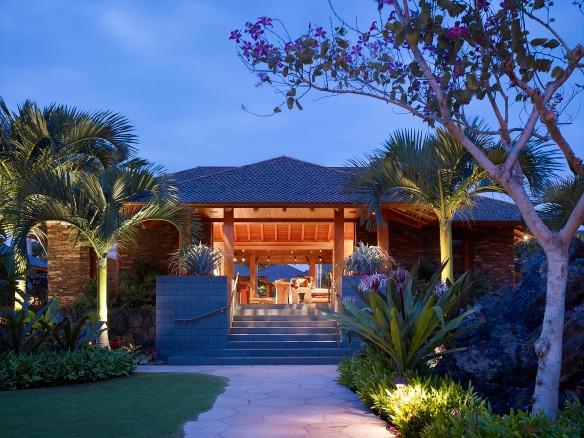 Hoffman Ospina Hawaii Kukio Island Home Landscape