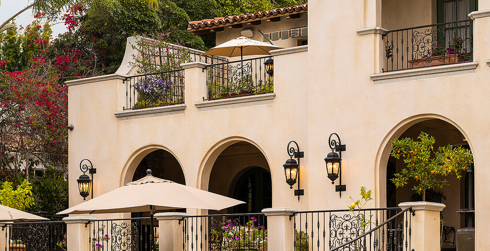Hoffman Ospina Mediterranean Villa Outdoor Design