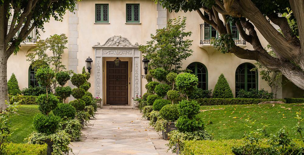 Hoffman Ospina Mediterranean Style Landscape Design