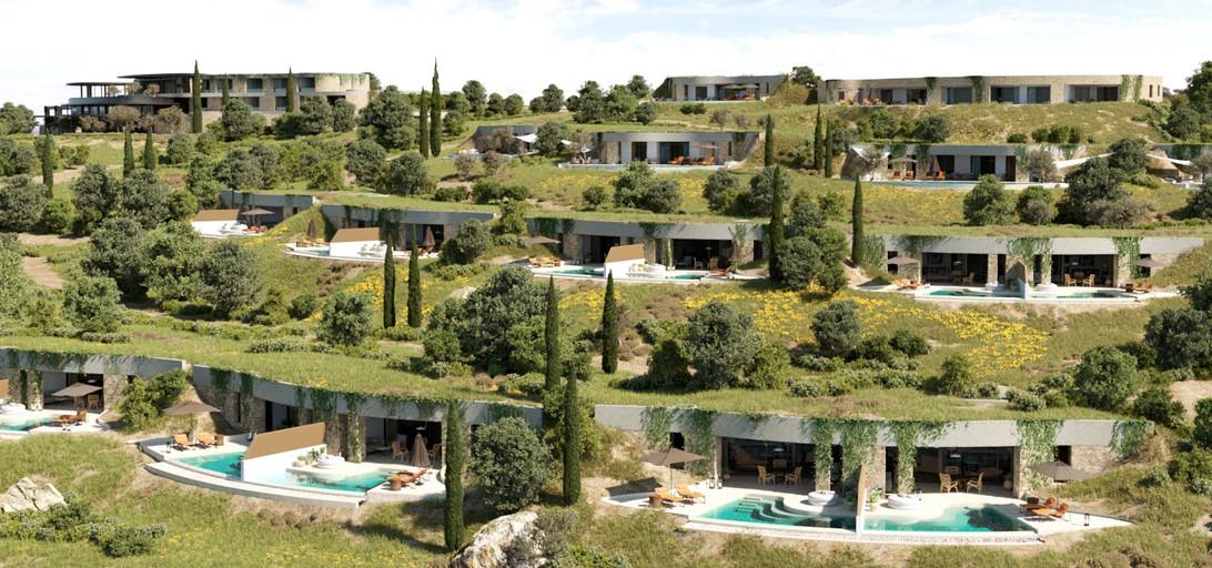 Hoffman Ospina Greece Resort Earth Sheltered Villas Design