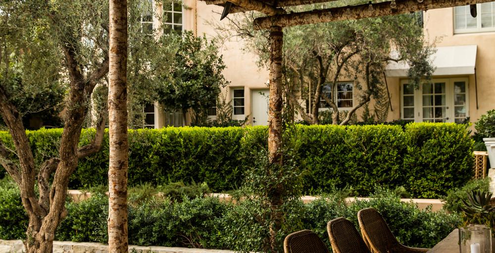 Hoffman Ospina Italian Retreat Outdoor Design