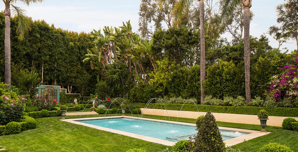 Hoffman Ospina Villa Pool Landscape Design