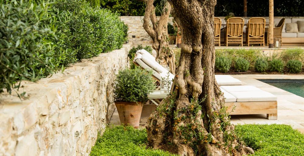 Hoffman Ospina Rustic Retreat Landscape Design IDeas