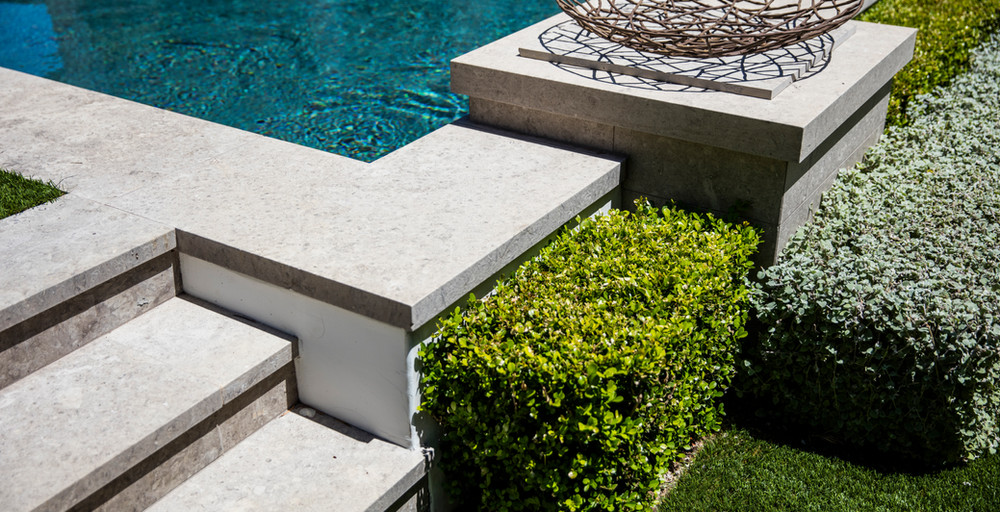 Hoffman Ospina Pool Design for Classical Residence
