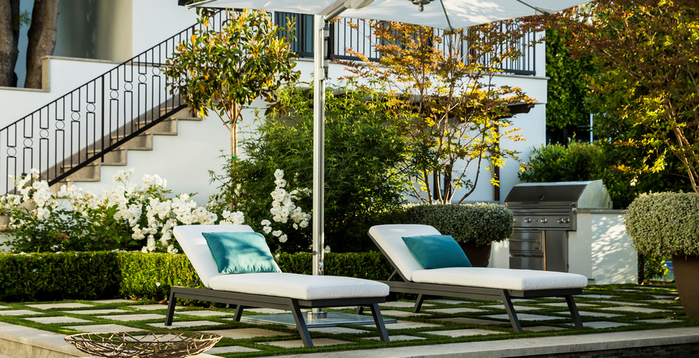 Hoffman Ospina Landscape Architecture in Classical Home