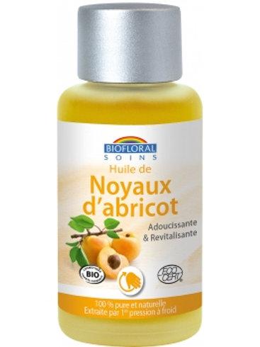 Biofloral Huile végétale Bio de Noyau d'abricot 50ml