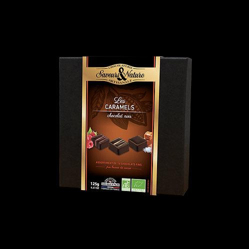 COFFRET 16 CHOCO NOIR CARA ASSORTIS 125 G