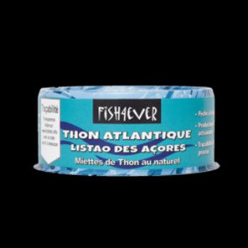 miette de thon listao au naturel 160 gr