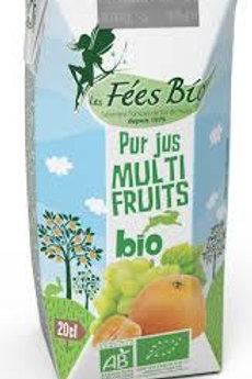 Les fées bio - Pur jus multifruits