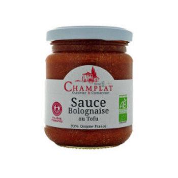 sauce bolognaise tofu 77% tomate France biopartenaire 200 gr