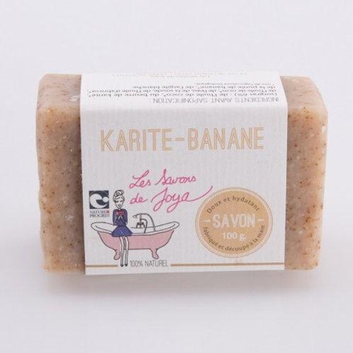 Savon karité-banane