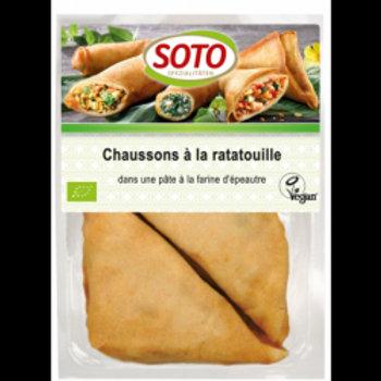 CHAUSSONS À LA RATATOUILLE [4 X 62,5 G]
