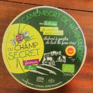 Camembert du champsecret 250gr BIO AOP