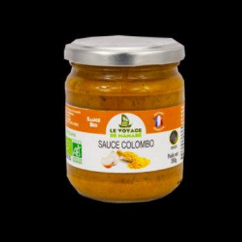 sauce colombo curry des Antilles 200 gr